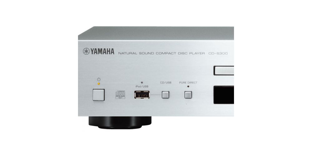 Yamaha CDS-300 Silver Compact disc CD CDS300 USB