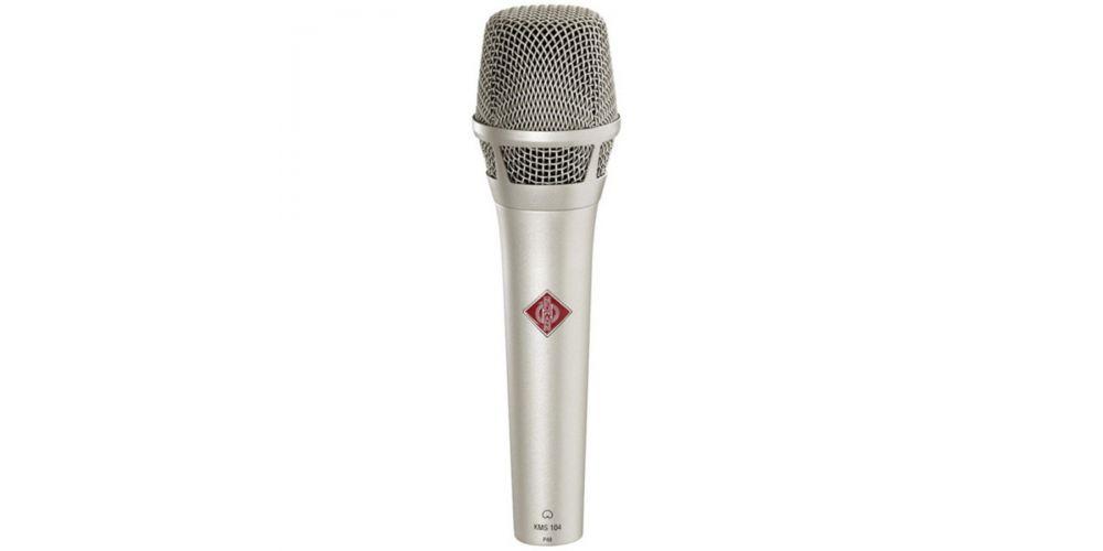 neumann kms104 niquel microfono mano