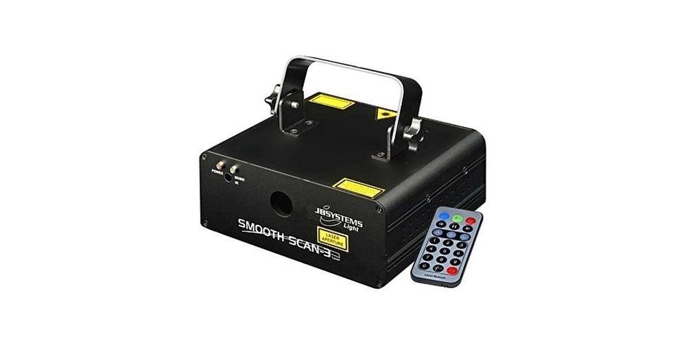 JBSYSTEMS SMOOTH SCAN-3 Laser Bicolor con Scanneres de 15Khz Ref 4226