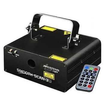 JBSYSTEMS SMOOTH SCAN-3 Laser Bicolor con Scanneres de 15Khz Ref 4226