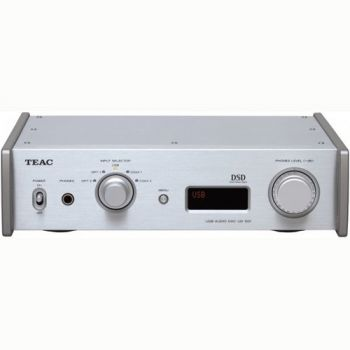 TEAC UD-501 S Conversos D/A , DUAL/MONO, USB Streaming, Silver