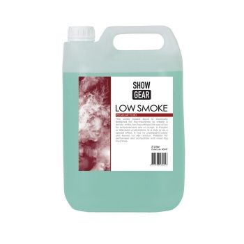 Showtec Low Smoke Fluid 5 Litros 60647. Liquido Humo