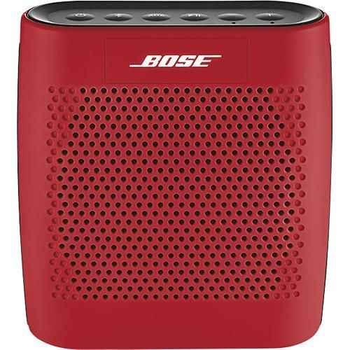 bose soundlink color bluetooth speaker red altavoz inalambrico