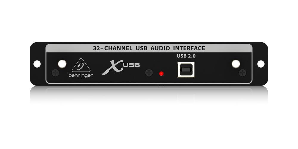 X MADI BEHRINGER TARJETA ENTRADA USB X32