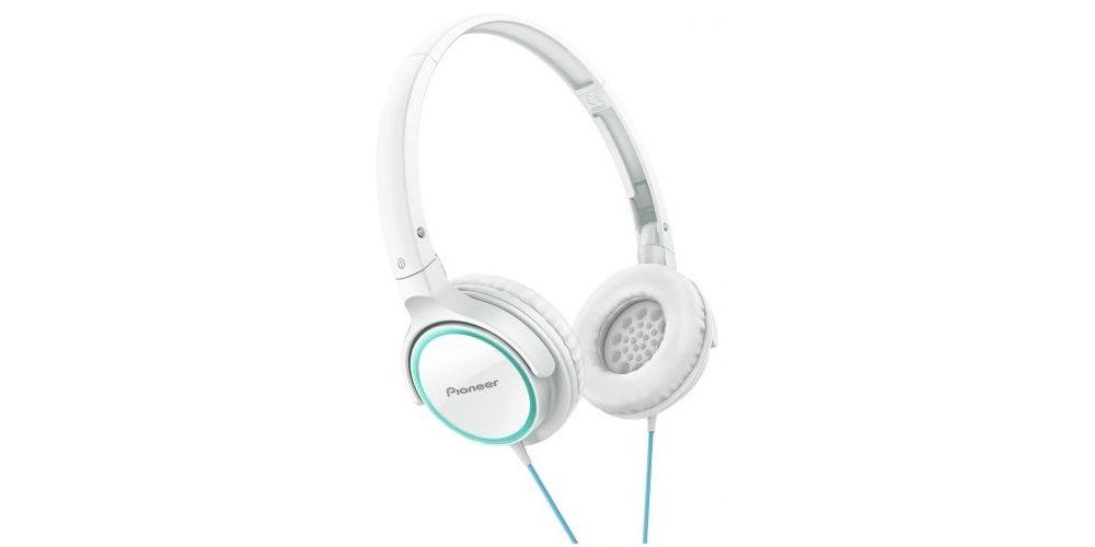 pioneer semj522w blanco rosa auriculares