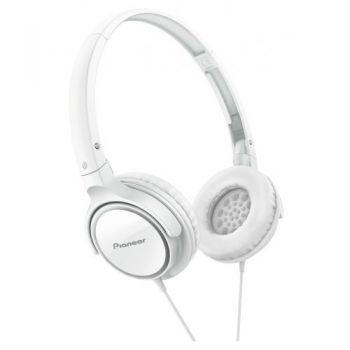 PIONEER SE-MJ512-WH  Auriculares Cerrados Blancos