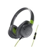 Audio-Technica  ATH-AX1iS-GY Auricular Gris