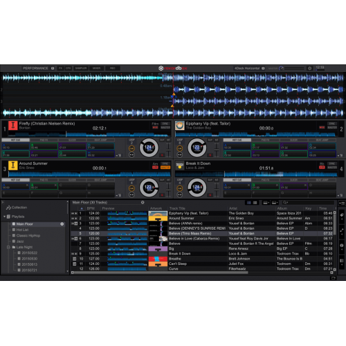pioneer rekordbox dj rb ld4 4DECKS