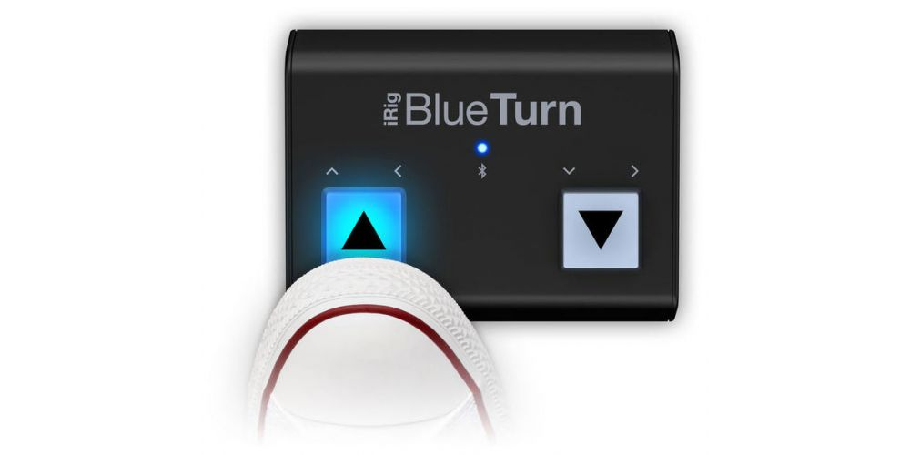 ik multimedia blue turn pedal
