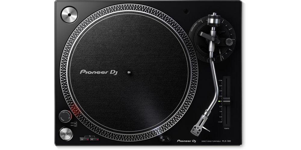 PIONEER PLX 500 Negro Giradiscos Dj