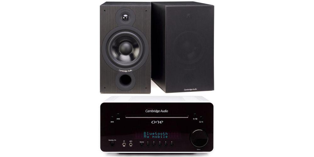 cambridge audio one white blanco sx60 black