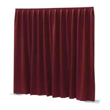 Showtec P D curtain Dimout Cortina Roja 89451