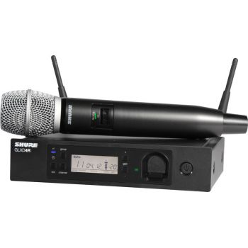 SHURE GLXD24RE SM86 Z2 Micrófono inalámbrico vocal de mano