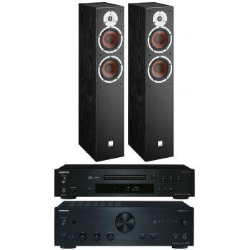 Onkyo A9030K+C7030 k+Dali Spektor 6BK, Conjunto Audio