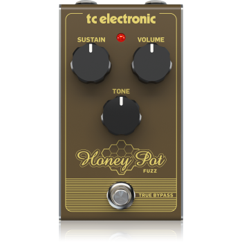 Tc electronic HONEY POT FUZZ Pedal Efectos
