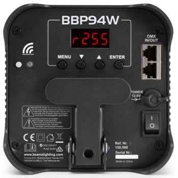 Beamz BBP-94W Foco Par con Bateria 150590