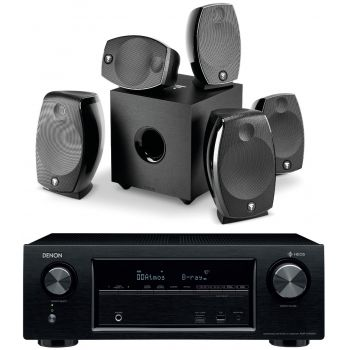 DENON AVR-X1400H+Focal SIB EVO Dolby Athmos 5-1-2