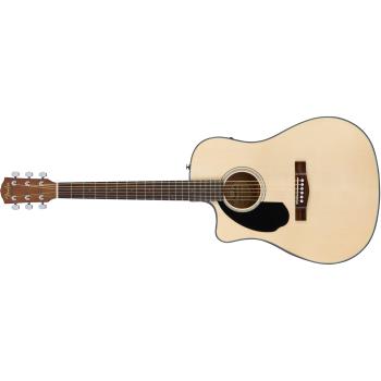 Fender CD-60SCE Natural LH. Guitarra Acústica