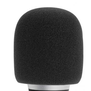 Adam Hall D 913 BLK Pantalla Antiviento para Micrófono negra