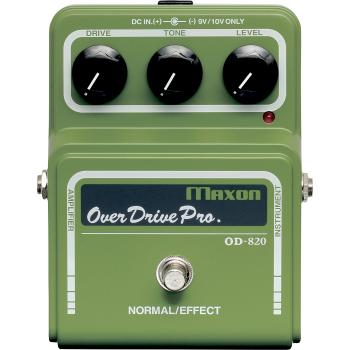 Maxon OD-820 Overdrive Pro Pedal Efectos Guitarra
