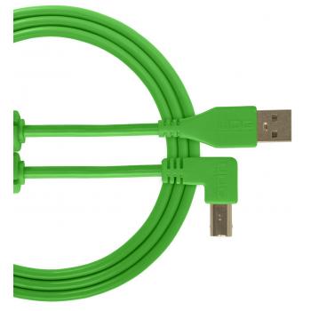 Udg U95004GR Ultimate Cable USB 2.0 A-B Verde en Angulo 1M