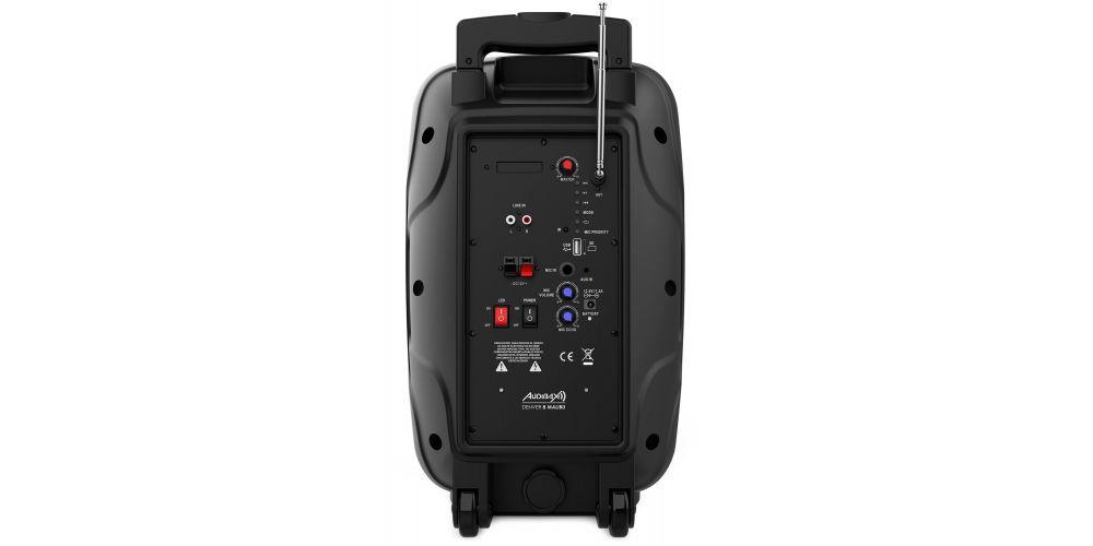 audibax denver 8 malibu controles