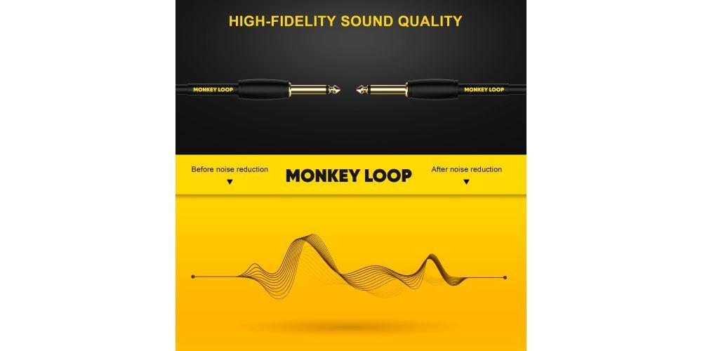monkey loop pro speaker jack mono jack mono cable altavoz noise reduction