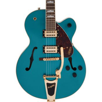 Gretsch G2410TG Streamliner Hollow Body Single-Cut with Bigsby Ocean Turquoise