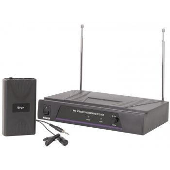 Qtx VL1 Sistema Inalámbrico VHF de Solapa