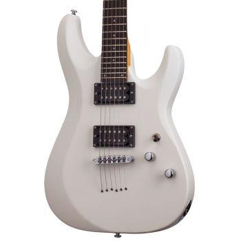 Schecter C-6 Delux Satin White. Guitarra Eléctrica