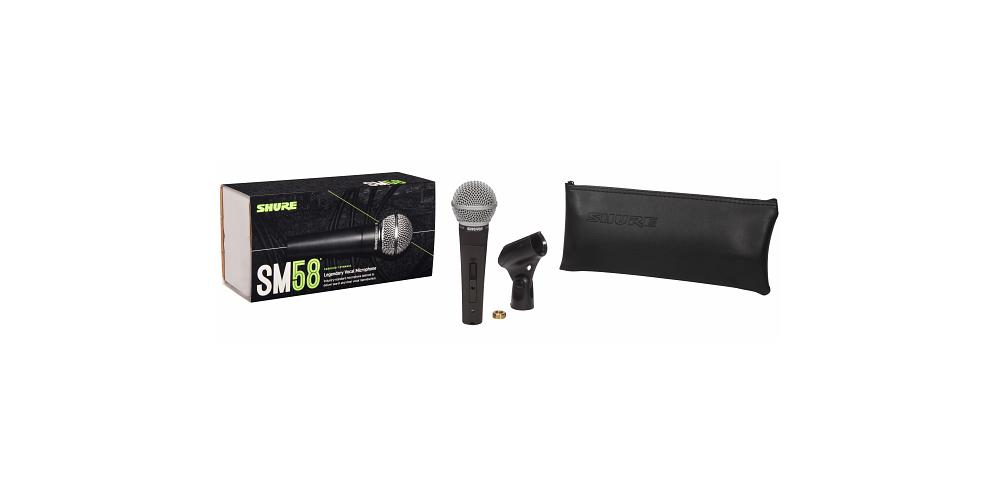 SHURE SM58 LC Microfono Mano