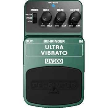 BEHRINGER UV300 Pedal Guitarra Efecto Ultra Vibrato