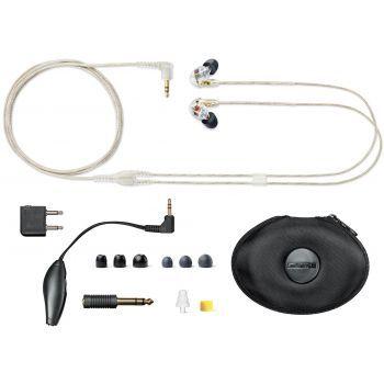 SHURE SE535 Transparente Auricular con Aislamiento SE-535