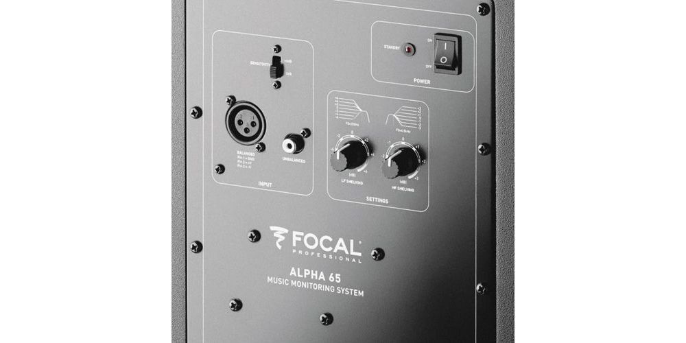 Focal alpha 65 monitor estudio