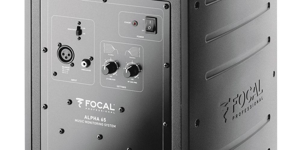 focal alpha 65 monitor estudio profesional conexiones