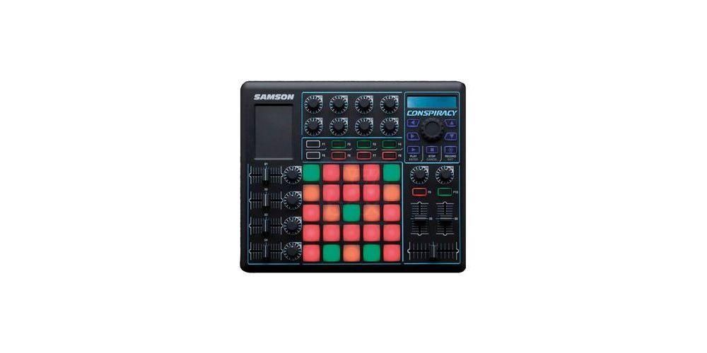 SAMSON CONSPIRACY Superfície de control MIDI