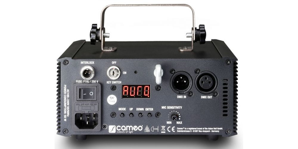 trasera cameo laser wookie150g