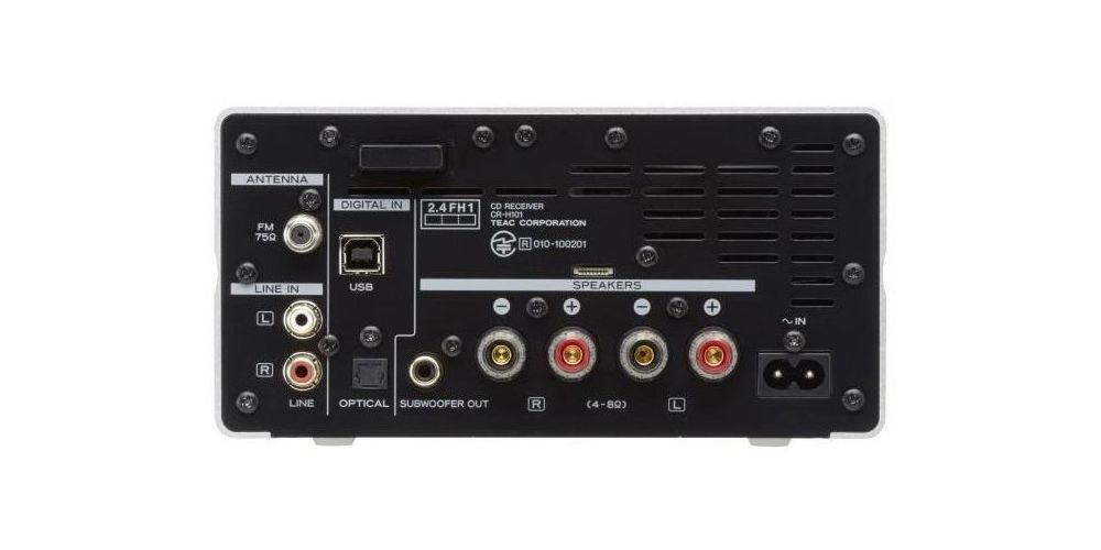 TEAC CRH101-SIL Micro Componente Hi Resolucion CD