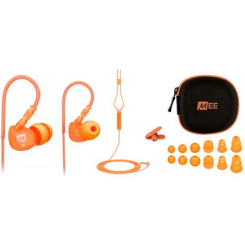 Mee Audio M6P Naranja Auriculares deportivos In Ear con control