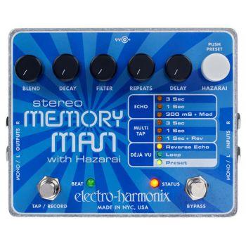 electro harmonix xo stereo memory man with hazarai 3