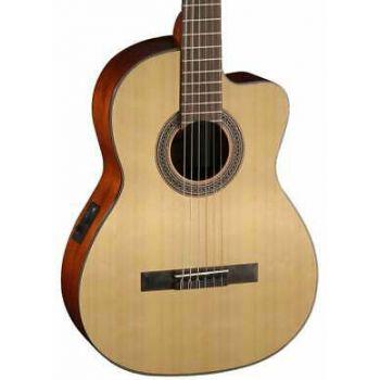 Cort AC120CE-OP Guitarra Clásica Electrificada Openpore