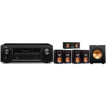 DENON AVR-X520 BK+Klipsch R-15MIIHC ,Conjunto 4-R15MII, R25CII, R10SW