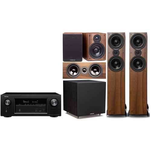 denon avrx2300 Cambridge Audio SX  80 cinema pack sx120  sx80 sx70 sx50 Columna altavoz acabado walnut