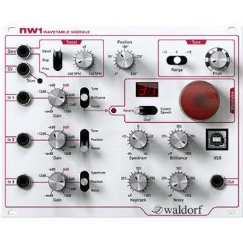 Waldorf NW1 Módulo que une oscilador y generador