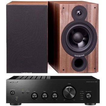 Pioneer A-10AE-K + Cambridge SX60 Walnut
