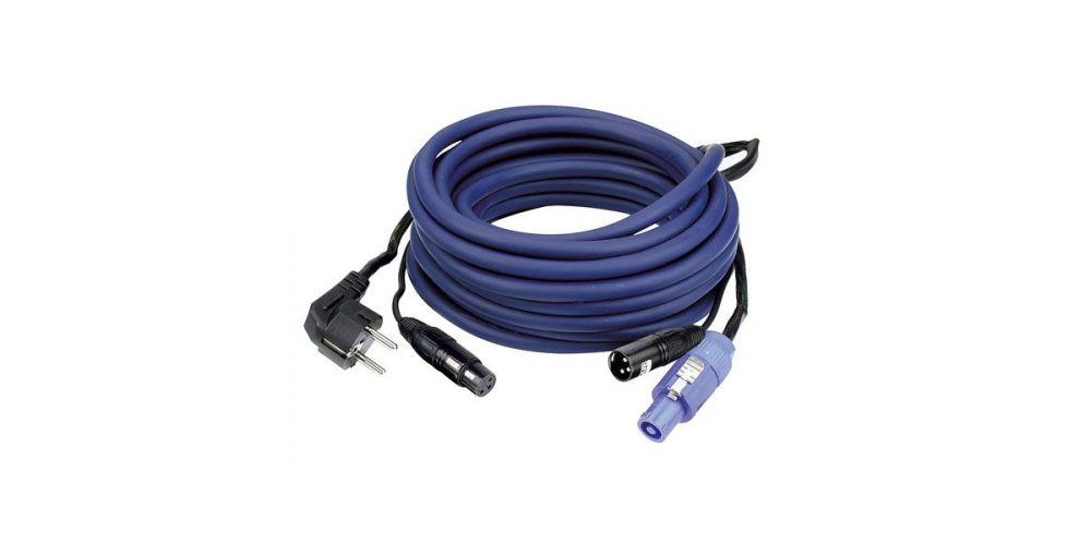 dap audio fp10 cable schuko powercon xlr 15 metros