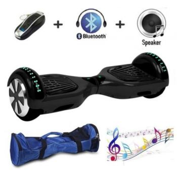 SEC Smart Balance Wheel con Leds SEC65BMBN Negro Bluetooth + Bolsa