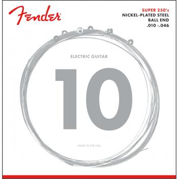 Fender 250S Juego de cuerdas para guitarra eléctrica 10-46