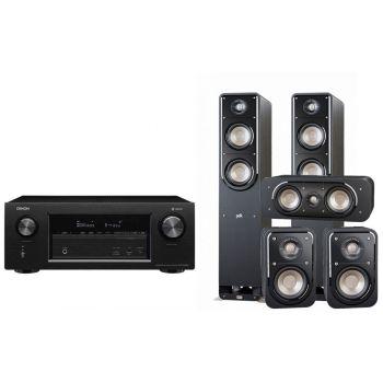 Denon AVR-X3400+ Polk S50+S30+S10