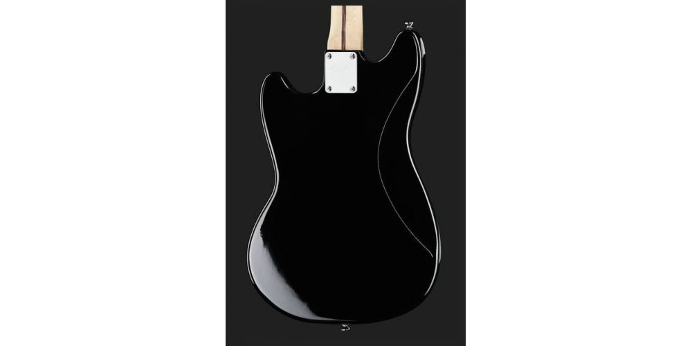 squier bullet mustang hh black back